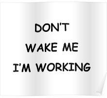 dont wake b Poster