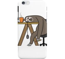 Office Sloth iPhone Case/Skin