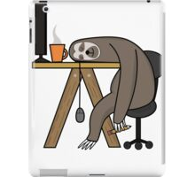 Office Sloth iPad Case/Skin