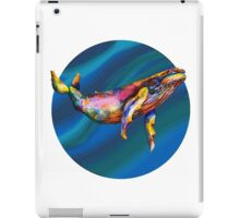 Humpback Bright on Pool of Blue iPad Case/Skin