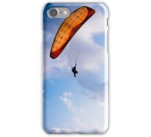 Paraglider Freedom in Varkala, India iPhone Case/Skin