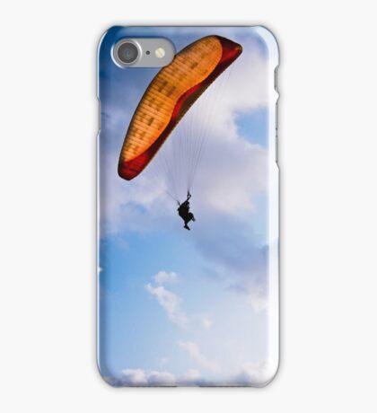 Paraglider Freedom in Varkala, India iPhone Case/Skin