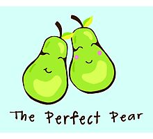 The Perfect Pear-Pair  Photographic Print