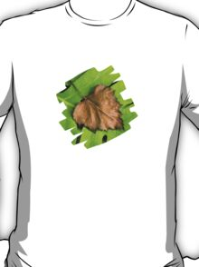 Old and New Leaf Abstract Art T-Shirt