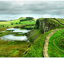 Hadrians Wall. by Nasibu Mwande