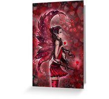 Hearts Valentine Heart Fairy by Molly Harrison Greeting Card
