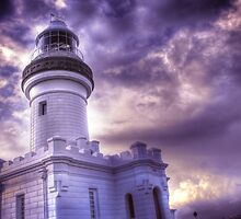 Byron Lighthouse HDR by Steve Chapple