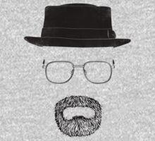 "Heisenberg's Haberdashery T-Shirt - ""Pork Pie"" Black One Piece - Short Sleeve"