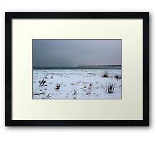 Winter on Lake Huron Framed Print