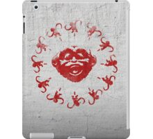 Barrel of 12 Monkeys (Red Paint) iPad Case/Skin