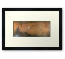 Martian Mug Framed Print