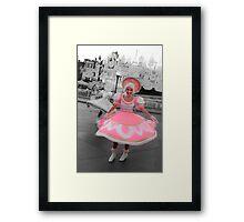 Pretty Dancer Framed Print