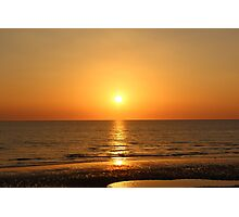 Beautiful Sunset Blackpool Photographic Print