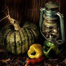 Capsicums 2 by Samantha Cole-Surjan