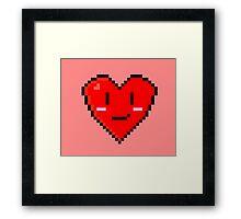 Retro Valentines Framed Print