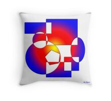 Sahara Sunrise Throw Pillow