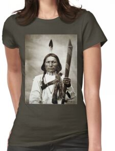 White Hawk Womens Fitted T-Shirt