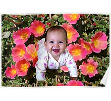 Born into Flowers! Poster