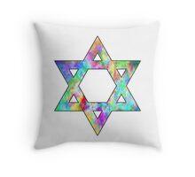 Jewish Star of David Throw Pillow