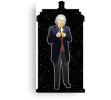 First Doctor and The TARDIS Canvas Print