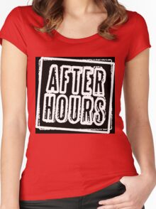 After Hours Women's Fitted Scoop T-Shirt