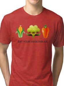 Eat Your Vegetables Tri-blend T-Shirt