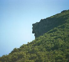 Old Man of the Mountain by chazz