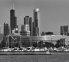 Chicago Soldier Field by mvpaskvan