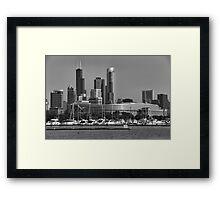 Chicago Soldier Field Framed Print