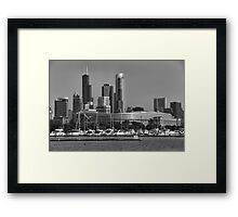 Chicago Soldier Field Framed Print