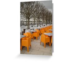 Gaucho Grill Terrace Greeting Card