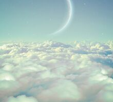 Dream Above The Clouds (Crescent Moon) by soaringanchor