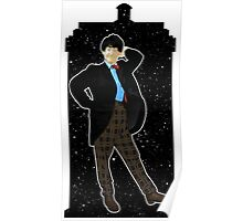 Second Doctor and The TARDIS Poster