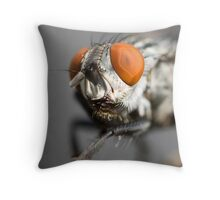 Fly's Eye Throw Pillow