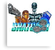 Snatcher (Sega CD) Logo v2.0 Canvas Print