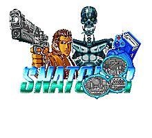 Snatcher (Sega CD) Logo v2.0 Photographic Print