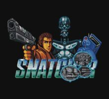 Snatcher (Sega CD) Logo v2.0 by AvalancheShirts