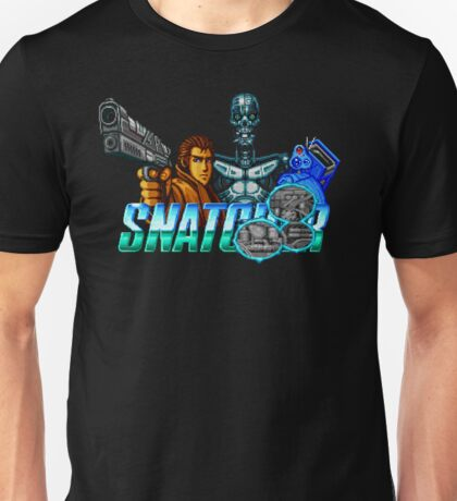 Snatcher (Sega CD) Logo v2.0 Unisex T-Shirt