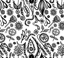 doodle pattern by HD Connelly