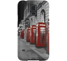 Red Phone Boxes Blackpool Samsung Galaxy Case/Skin