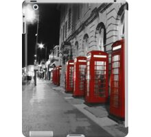 Red Phone Boxes Blackpool iPad Case/Skin