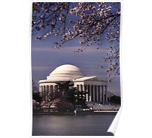 Jefferson Memorial 2 Poster