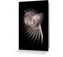 Deep Sea Fractal Greeting Card