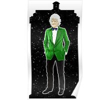 Third Doctor and The TARDIS Poster