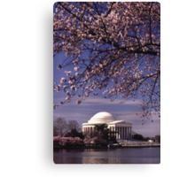 Jefferson Memorial 3 Canvas Print