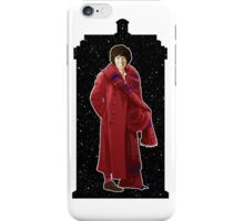 Fourth Doctor and The TARDIS iPhone Case/Skin