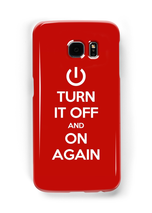 Keep Calm - Turn It Off and On Again by Styl0