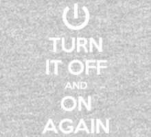 Keep Calm - Turn It Off and On Again Kids Clothes