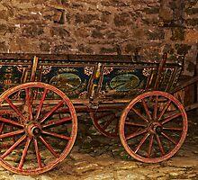 Traditional Painted Horse Cart in Etara, Bulgaria by atomov