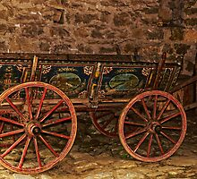 Traditional Painted Horse Cart in Etara, Bulgaria by atomov